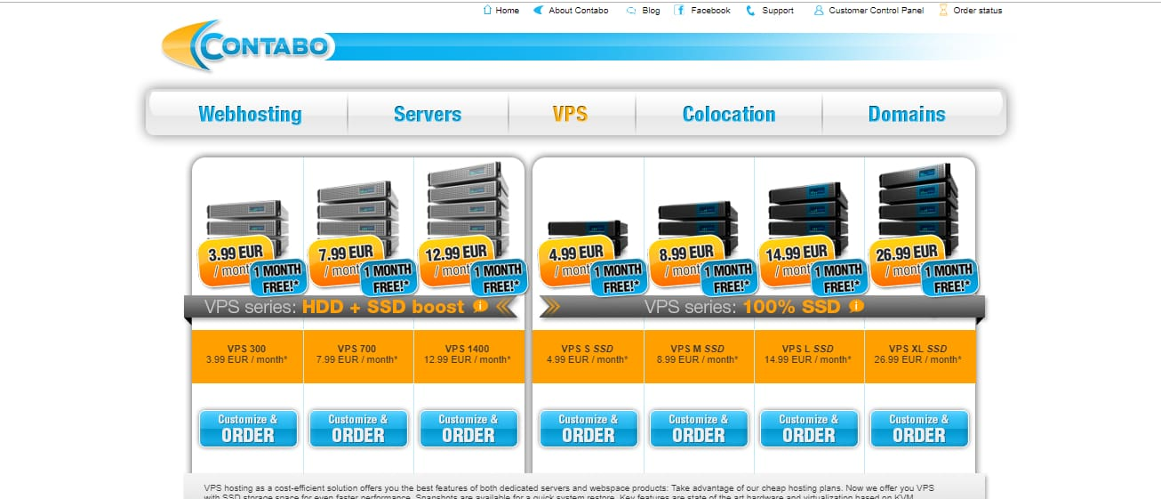 Contabo best vps europe