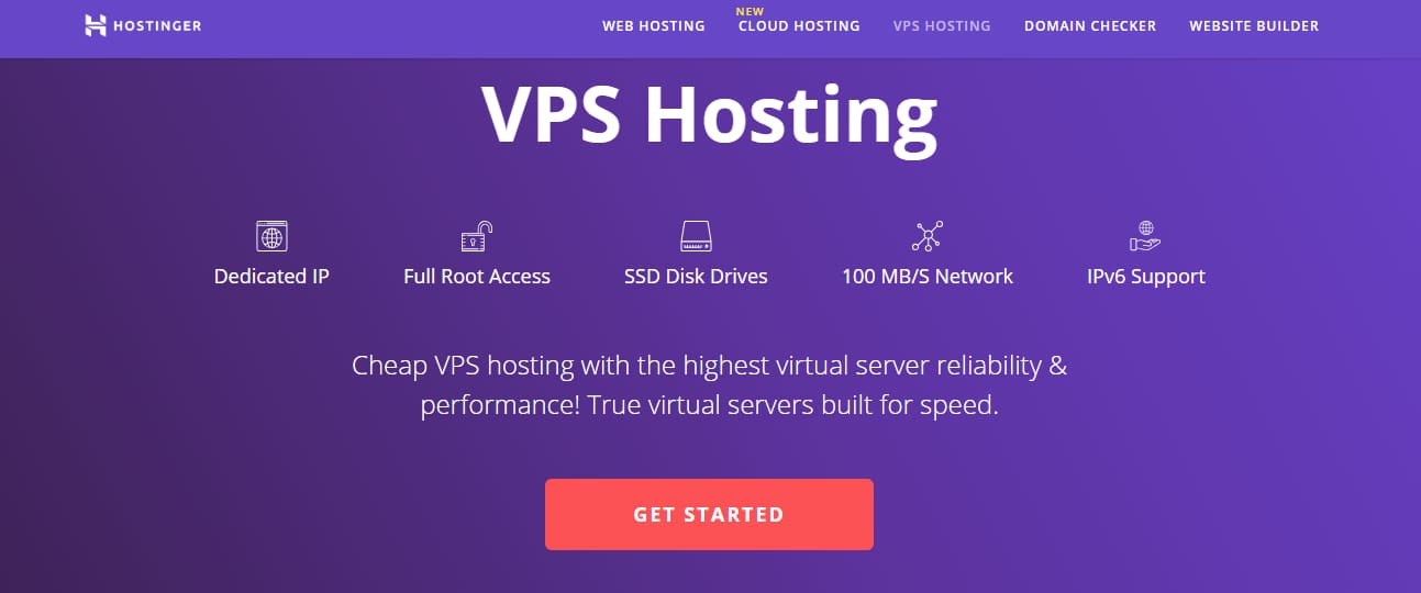 Hostinger Cheapest VPS