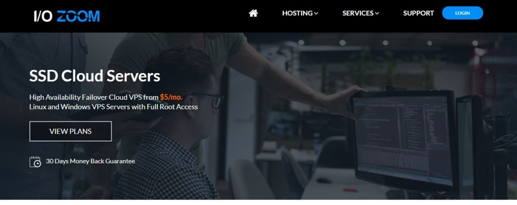 IO Zoom VPS-hosting