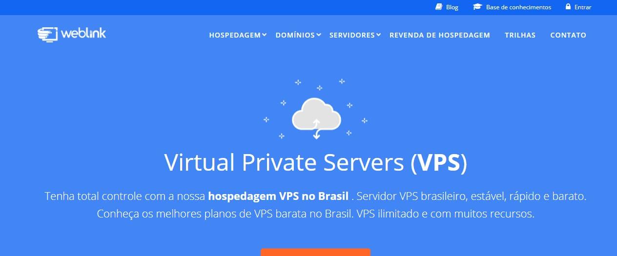 ウェブリンクVPSブラジル