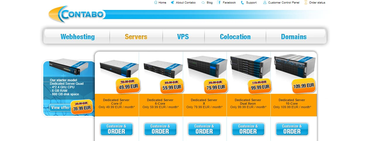 Contabo - Best dedicated servers