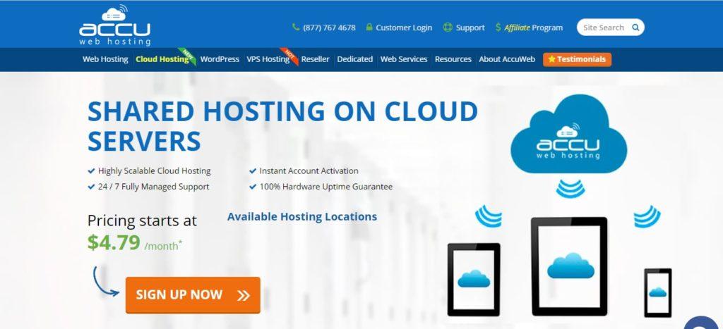 AccuWeb Hosting Cloud