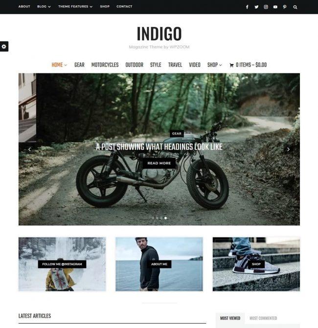 Template Indigo