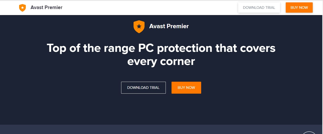 Avast Premier Software